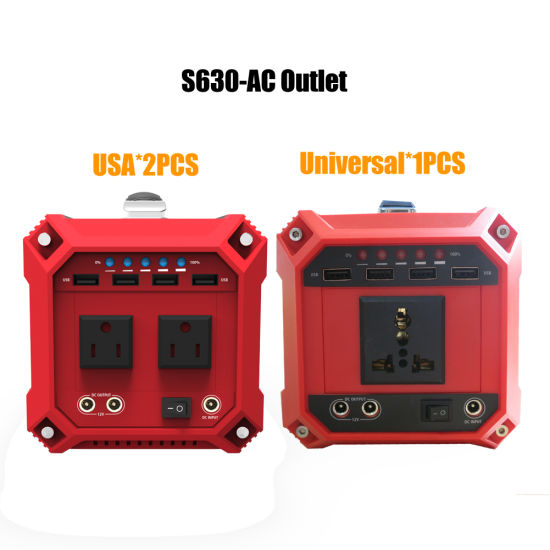 Lithium Battery Powered 300W Power Generator for Home and Outdoor