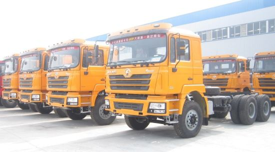 China Shacman F3000 Truck Tractor 6X4 Xian-Cummins Diesel Engine 385HP pictures & photos