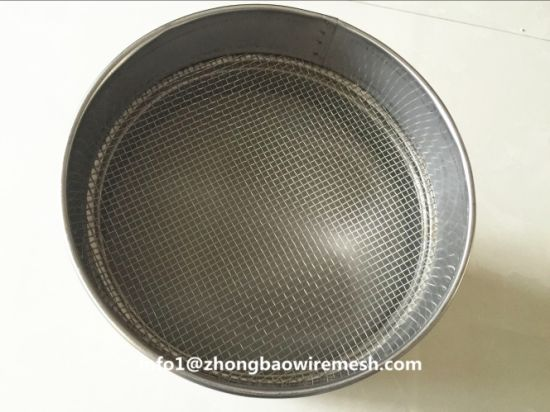 High Efficiency Grain/Flour Test Sieves Shaker-10/20/30/40/50/60/80/100/200 Mesh pictures & photos