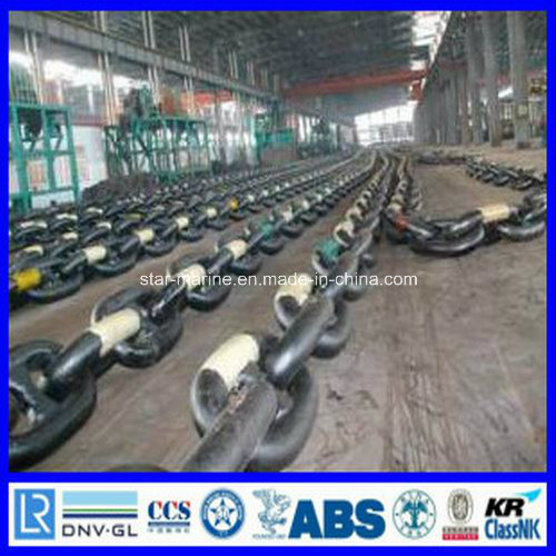 Grade R3 Mooring Chain with Class Certificate pictures & photos