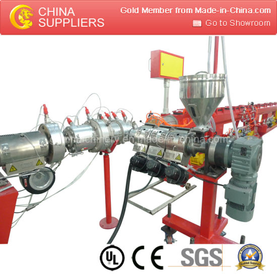 High Quality Pert Pipe Extrusion Production Line pictures & photos