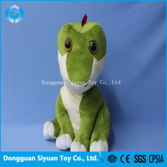 China Green Giant Dino Stuffed Animal Plush Soft Toy Dinosaur For
