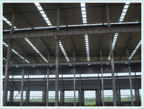 China The Fabrication of Engineer Designed Portal Frame Steel ...