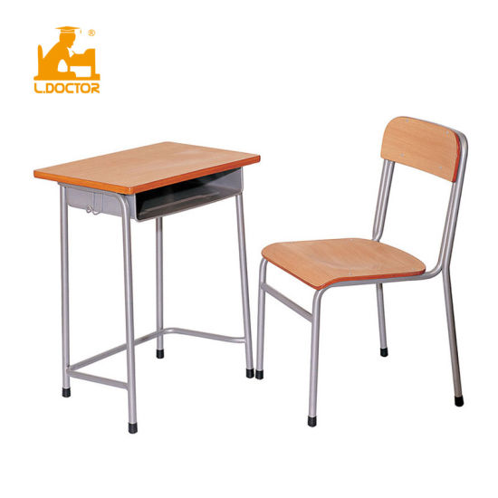 Ldoctor Wooden Student Desk Price of School Furniture pictures & photos