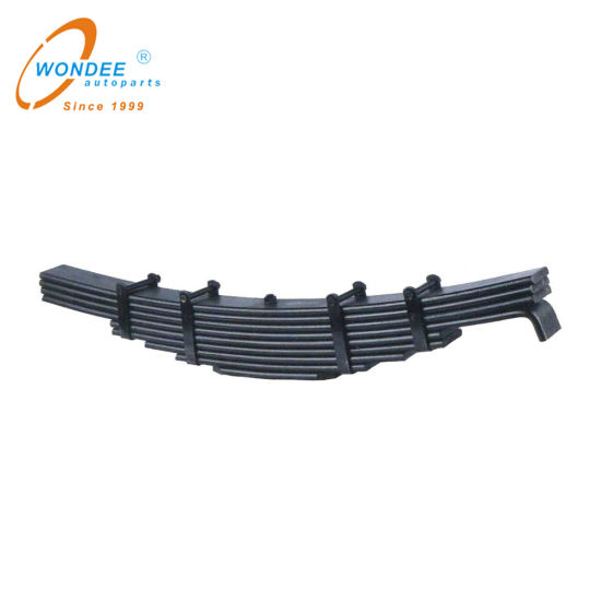 Auto Parts Manufacturer Suspension Leaf Spring for Semi Trailer and Truck