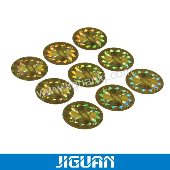 Scratch off Paper 3D Hologram Seal Sticker