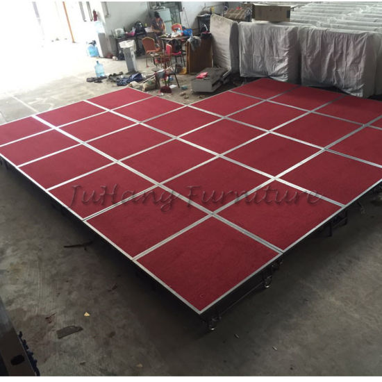 Mobile Durable Steel Stage for Wedding