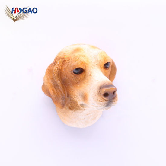 9e23f9dfb454 China Supplier Wholesale Resin Custom Animals Souvenirs Gifts Polyresin Dog  Fridge Magnet pictures & photos