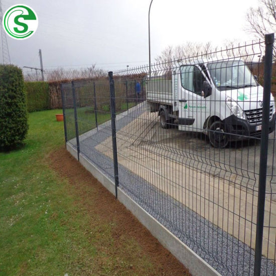 Factory Wholesale Durable Galvanized 3D Bending Welded Fence