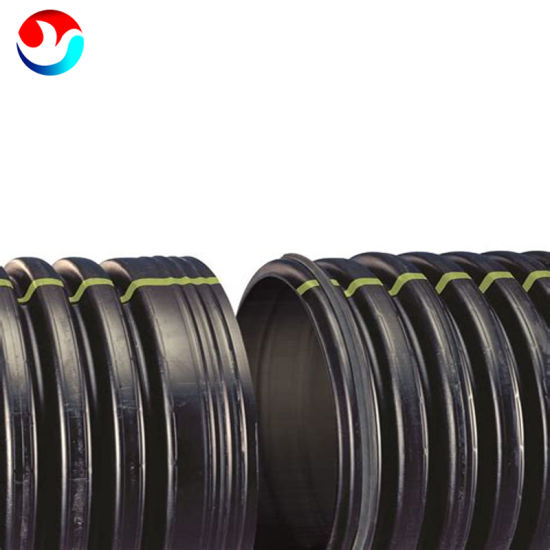Dn800 Sn4 HDPE Carat Spiral Corrugated Pipe Krah Tube for Water Supply Drain Supply