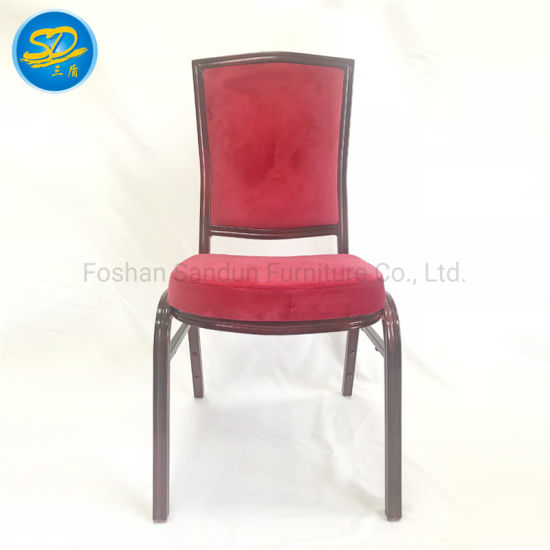 Stacking Aluminum Iron Event Wedding Dining Banquet Chair