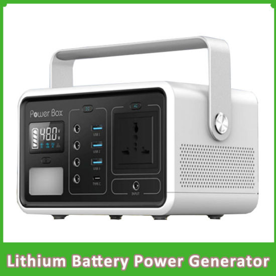 Portable 500wh Generator Lithium Battery Power for Outdoor