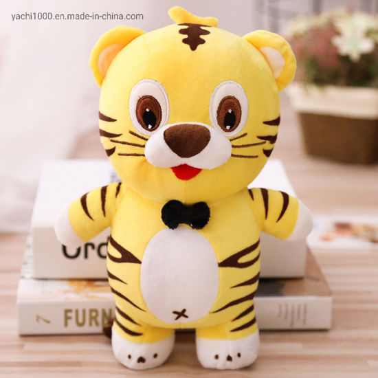 Children Kids Sylvanian Toys Cartoon Stuffed Plush Toy Tiger for Wholesale