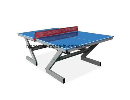 China Professional Outdoor Weatherproof Table Tennis Table Fiber