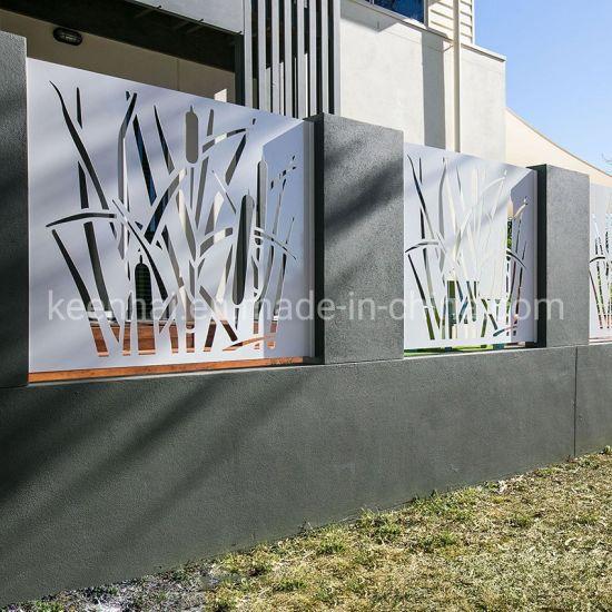 Decorative Garden Aluminum Perforated Metal Fence Panel (Keenhai-CW004)