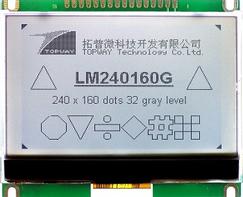 240X160 Graphic LCD Display Module