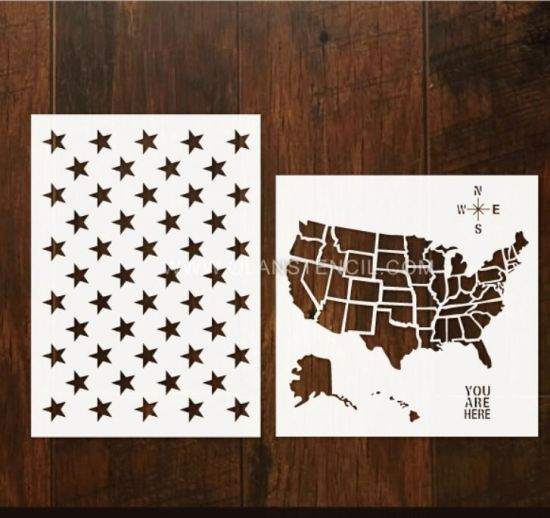 Plastic Stencil Sheets Pet for Card Making and Art Painting