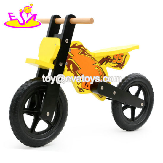 New Design Kids Wooden Toy Motorbike with High Quality W16c221