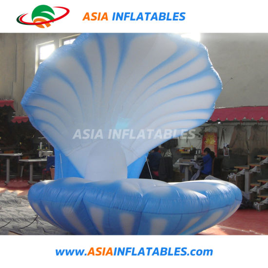 Party / Stage / Wedding Decoration Customized Giant Inflatable Stage LED Open Shell, Inflatable LED Shell for Advertising, Inflatable Turtle Shell pictures & photos