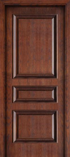 Interior Solid Wood Wooden Composite Door Manufacturer (CX-2001)
