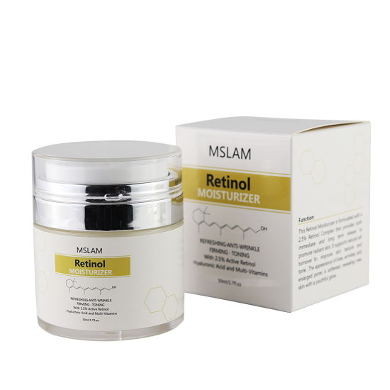 OEM Private Label Retinol Face Cream Retinol Vitamin a Anti Aging Moisturizer Cream pictures & photos