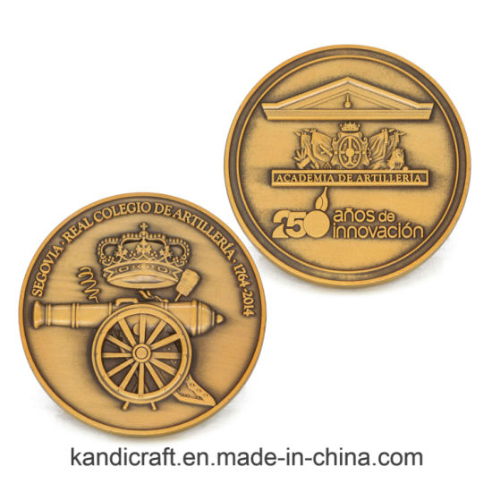 Custom Stamping 3D Old Souvenir Coin Opener Coin Pendant Plates Ringreligious