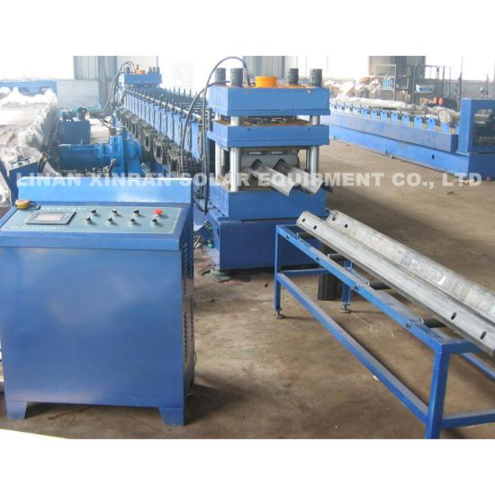 Highway Guardrail Cold Roll Forming Machine with Cutting Machine and Bending Machine pictures & photos