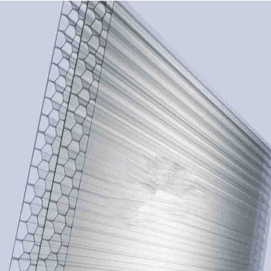 Light-Transmisstion Polycarbonate Honeycomb Core Board Plastic Sheet pictures & photos