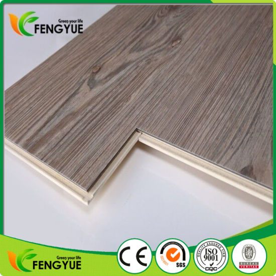 China No Glue Click Interlocking Wood Residential PVC Vinyl Plank - Click together vinyl planks