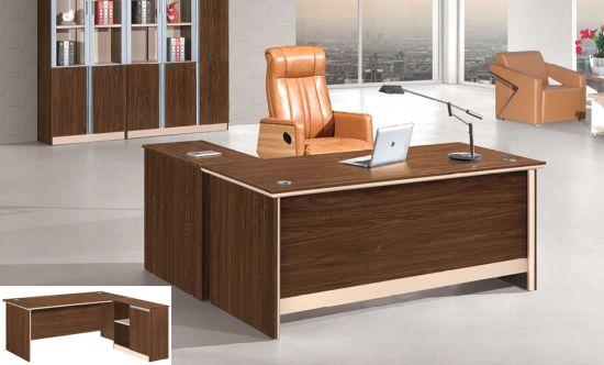 Modern Wood Boss Laptop Executive Office Table