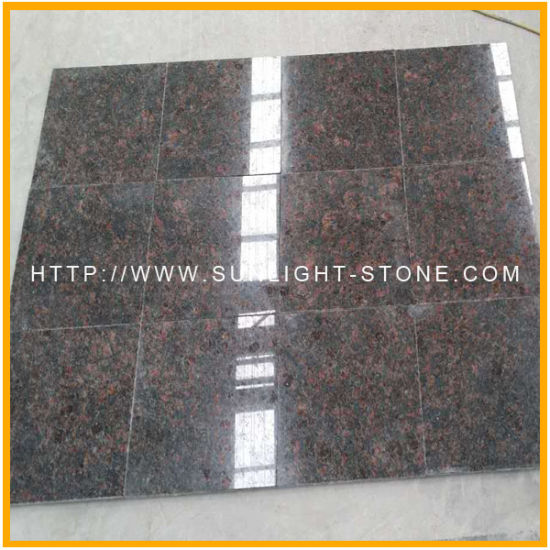 China India Tan Brown Granite Flooring Bathroom Tiles China Tan