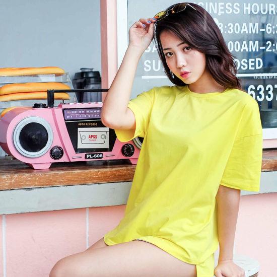Healong Latest Design Fashion T Shirt Cotton Tee Men Unisex Wholesale Garment Custom T Shirt Clothing