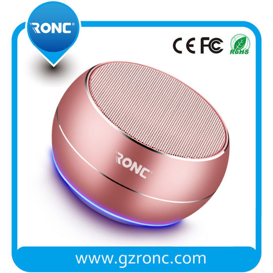 Wireless Mini Bluetooth Speaker Metal Bluetooth Speaker