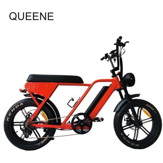 73 48V 13ah -16ah LCD Display 250W 350W 500W 750W Motor Wheel Super Power Adult Fat Tire Fatboy Electric Sport Bike