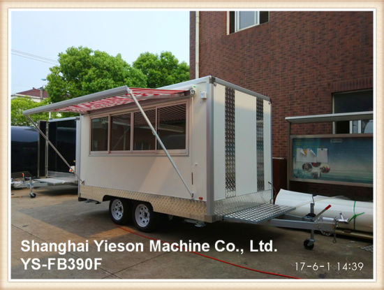 China Ys-Fb390f Food Trucks Mobile Food Trailer Catering Trailers