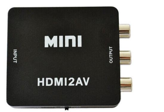 HDMI to RCA/AV Converter 1080P
