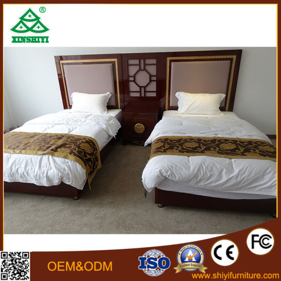 Solid Wood Bedroom Furniture Set Heatedboard pictures & photos