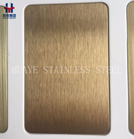China Good Quality Titanium Coated Stainless Steel Colore Sheet ...