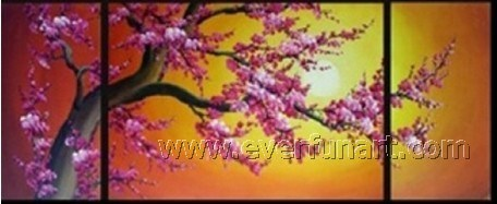 Modern Canvas Wall Art Flower Oil Painting (FL3-014) pictures & photos