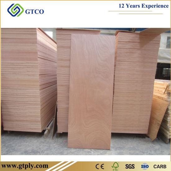 820X2150X2.7mm Sapeli Wood Veneer Plywood Doors