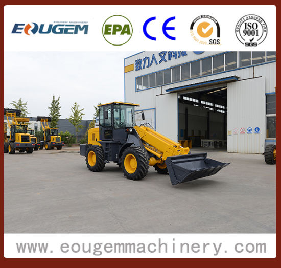 2017 Construciton Machine 2 Ton High Quality Telescopic Loader Made in China pictures & photos