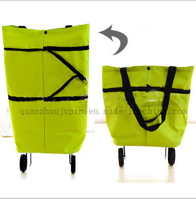 OEM Logo Fashion Travel Shopping Bag With Wheels for Promotion pictures & photos