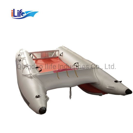 Ilife Small Best Price Hot-Sale High Speed Boat Ferry Catamaran Inflatable High Speed Boat