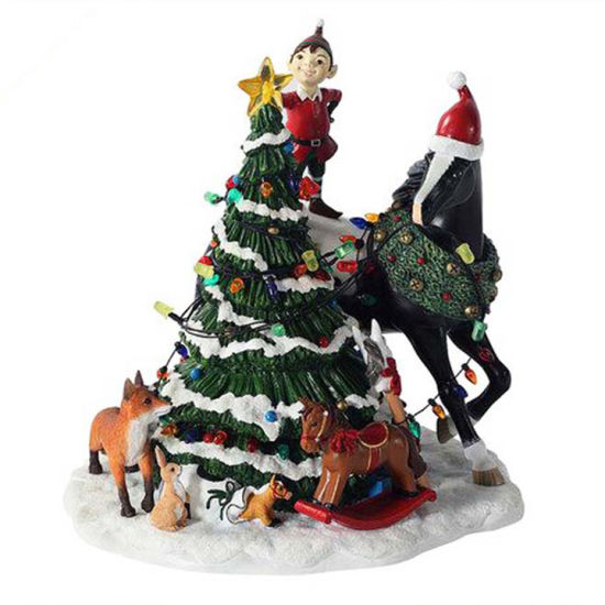 Santa with Sledge Display Ideal Indoor Christmas Display pictures & photos