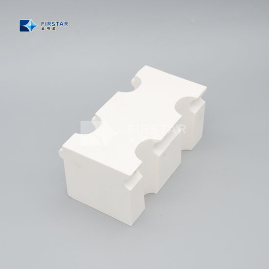 Zta Alumina Ceramic Block Cube for Vulcanizing Use
