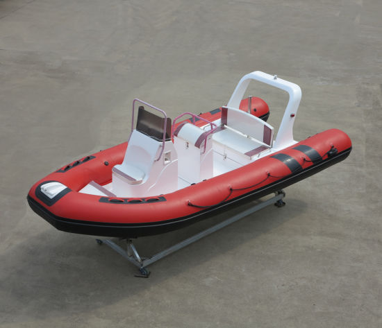 Aqualand 14feet 5.3m Rib Motor Speed Rescue Patrol/Rigid Inflatable Patrol Fishign Boat (aql-530b) pictures & photos