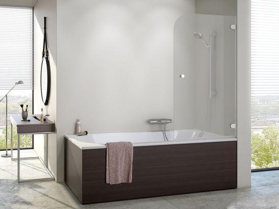 China Bathroom Frameless Clear Glass Bathtub Simple Bath Shower ...