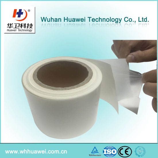 Factory Directly Transparent PU Film Jumbo Roll Material for 3m Tegaderm I. V. Dressing