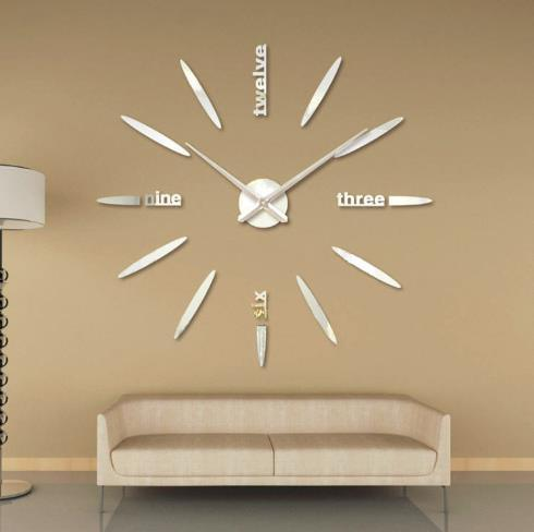 Factory Price High Quality DIY Wall Clock Sticker Home Decoration pictures & photos