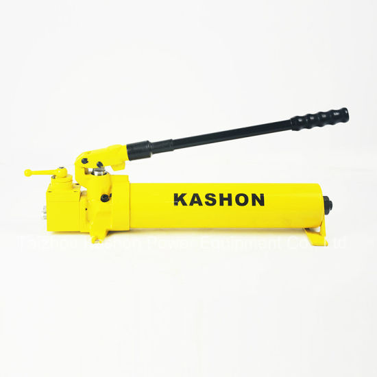 Double Acting Steel Hydraulic Hand Pump for Jack & Cylinder pictures & photos